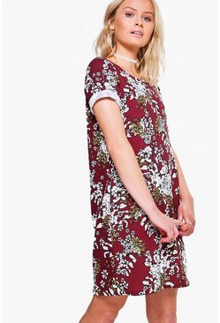 Maisy Short Sleeved Shift Dress