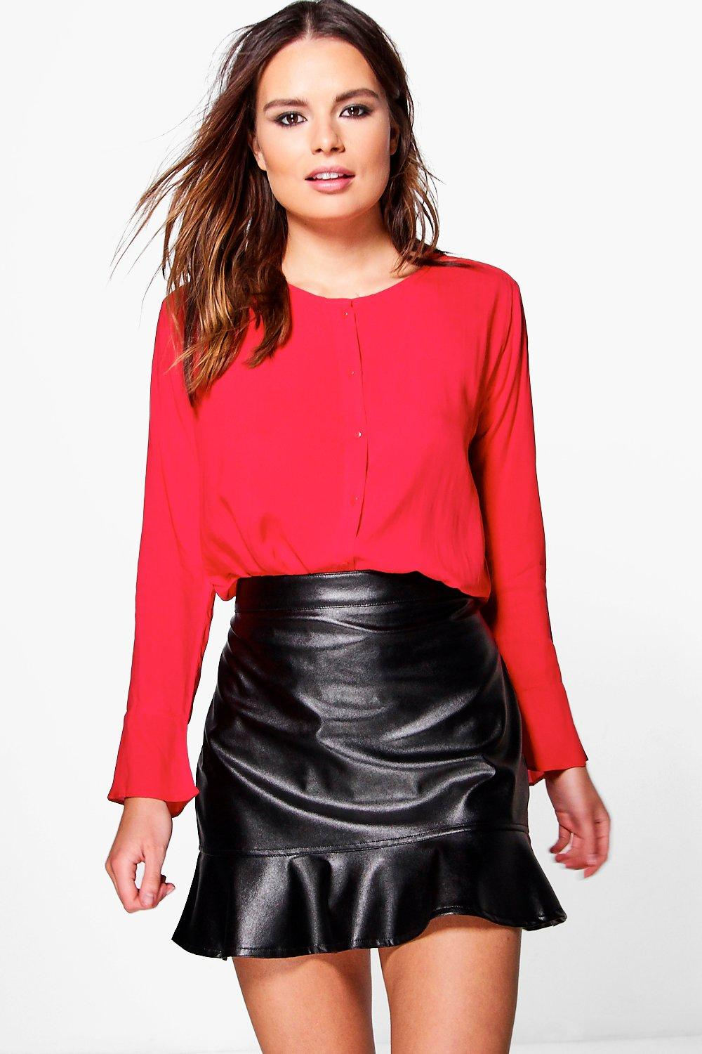Neave Button Front Blouse