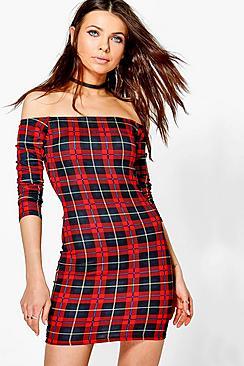 Lauren Off Shoulder Bodycon Dress