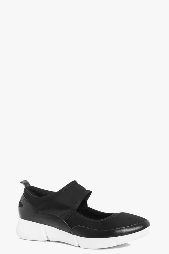 Maya Ankle Strap Trainers