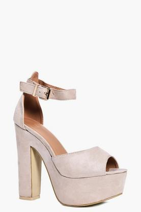 Anna Platform Two Part Heel