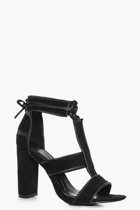 Bella T Bar Block Heels