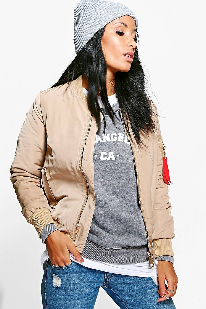 Julia Padded Bomber Jacket