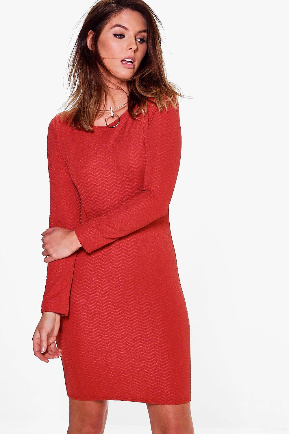Aiyana Long Sleeve Bodycon Dress