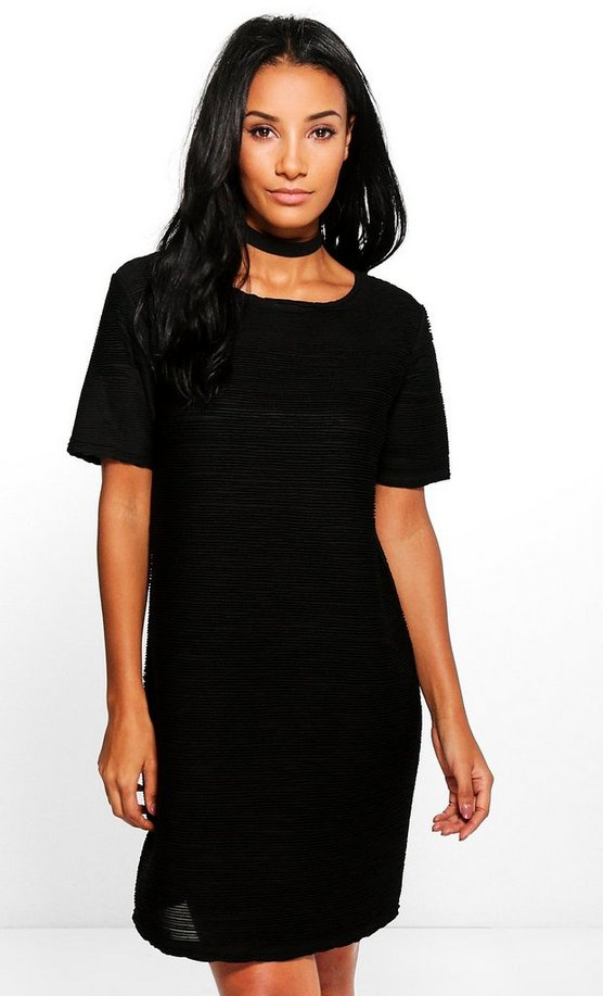 Amabel Ruffle Cap Sleeve Shift Dress