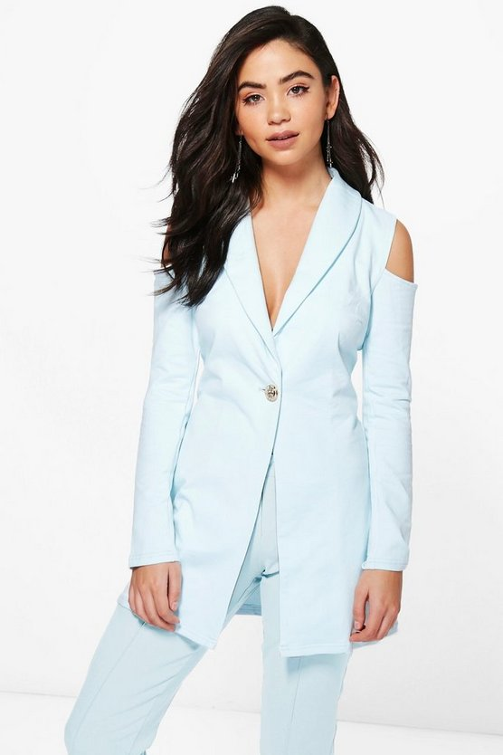 Emma Cold Shoulder Blazer