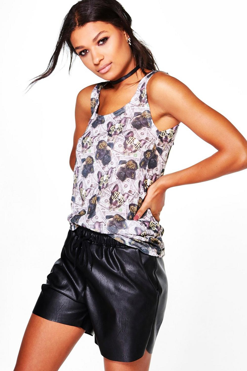 Anna All Over Printed Vest