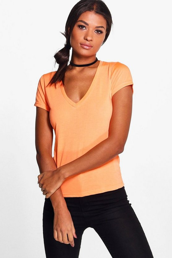 Hallie Basic Jersey T-Shirt