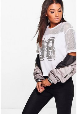 Freya Foil Number Baseball T-Shirt