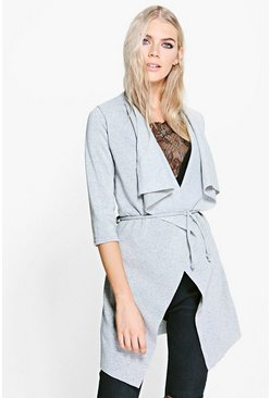 Rosie Jersey Waterfall Jacket