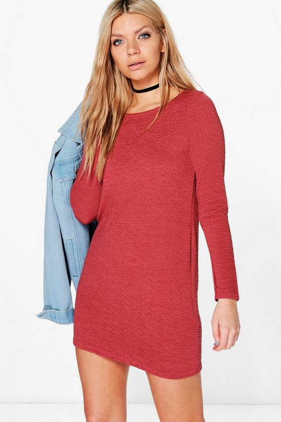 Angharad Long Sleeved Shift Dress