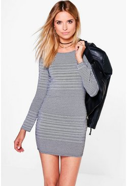 Whitney Long Sleeved Bodycon Dress