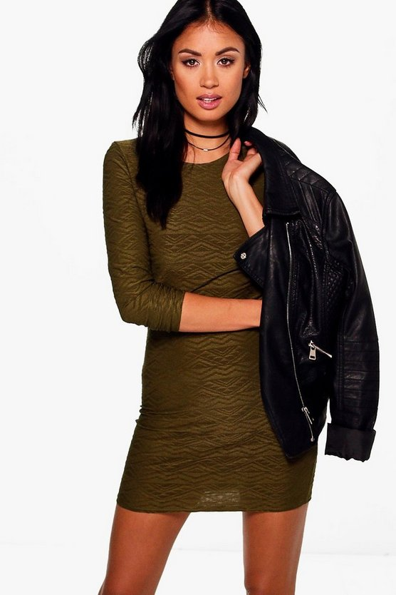 Ailbhe Long Sleeved Bodycon Dress