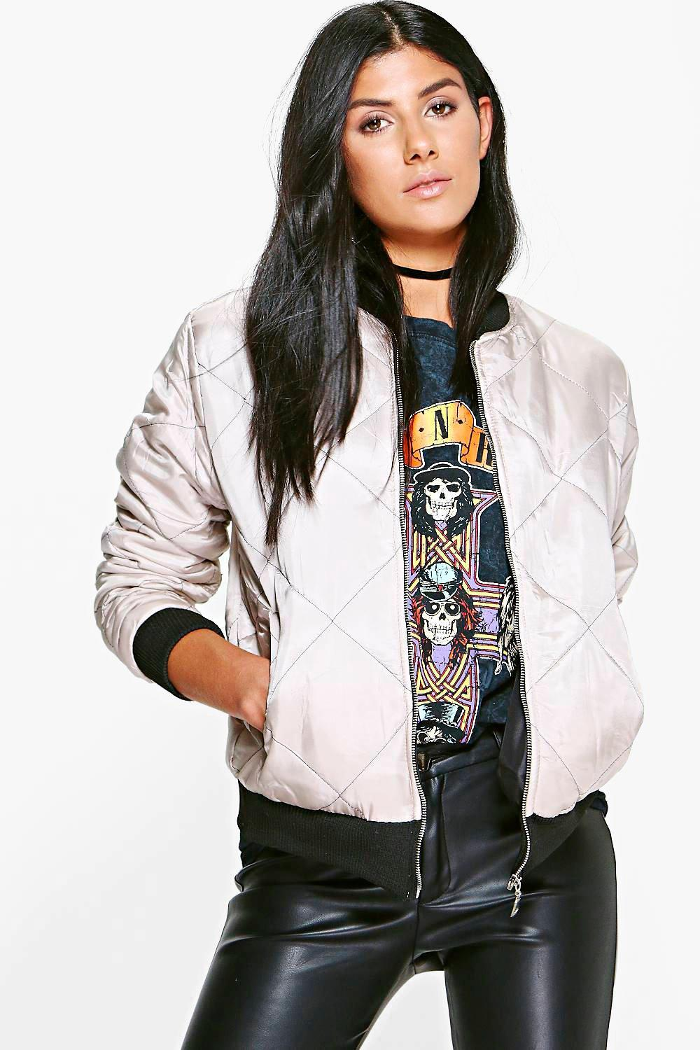 Carrie Quilted Bomber