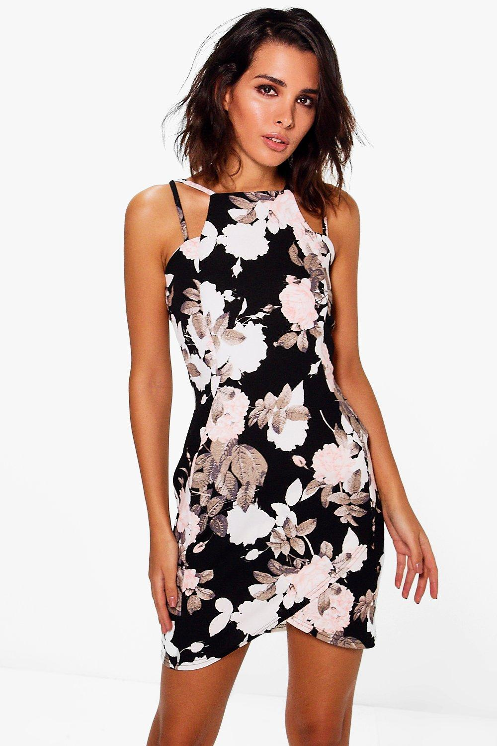 Rebecca Floral Strappy Dress