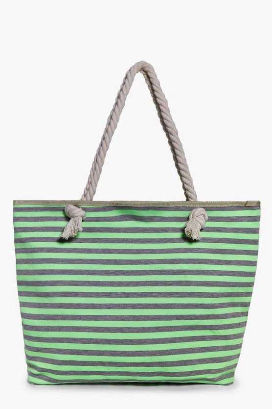Rachel Green Stripe Beach Bag