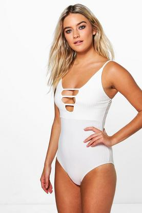 Maisie Cut Out Rib Bodysuit