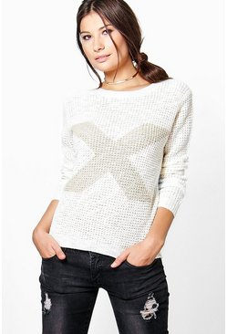 Vanessa Scoop Neck Jumper