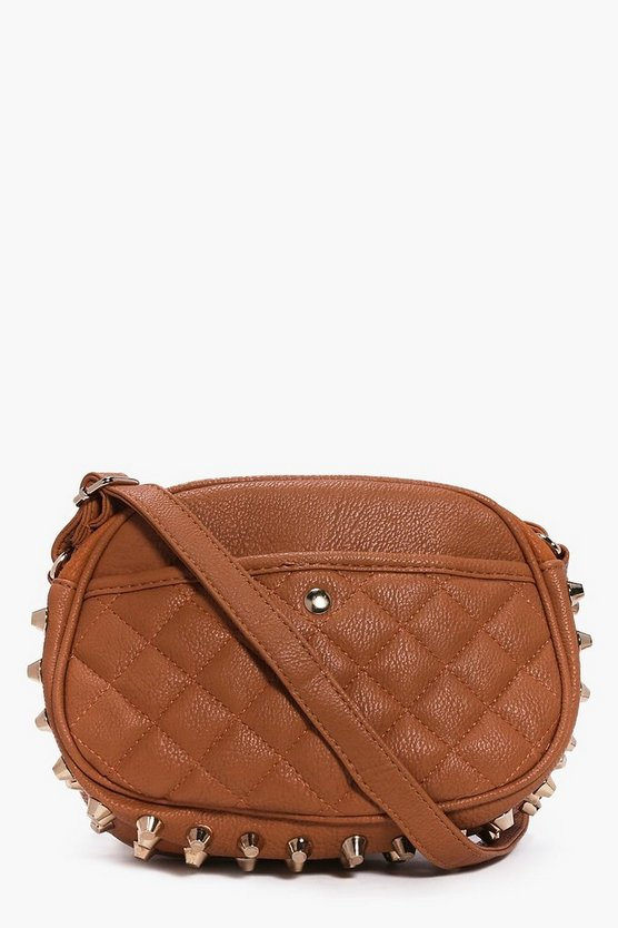 Phillipa Stud Quilted Body Bag