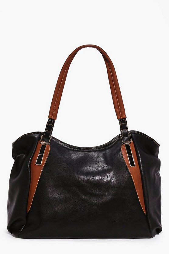 Tegan Metal Detail Day Bag