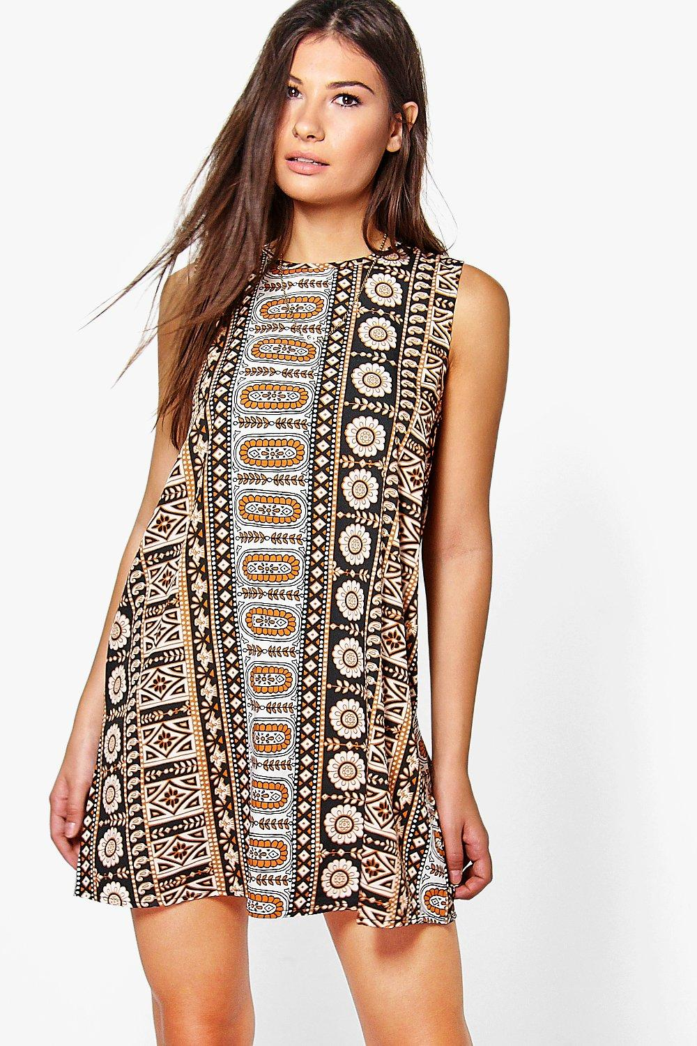 Scarlett Printed Tunic Dress