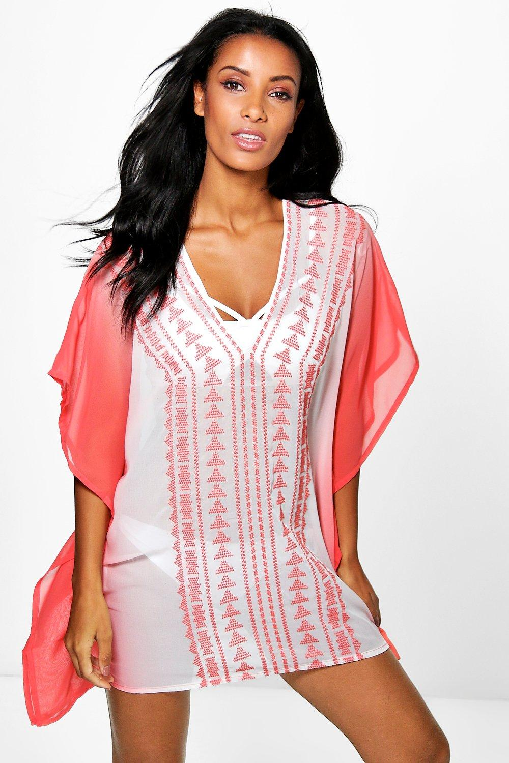 Ava Embroidered Kaftan