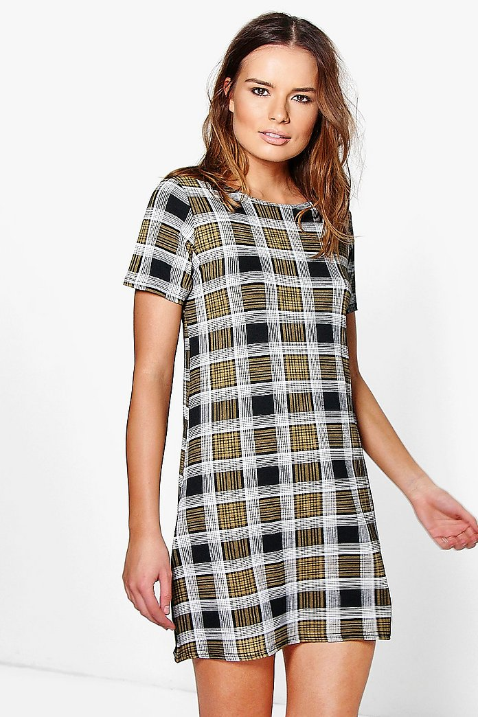 Naomi Printed Shift Dress