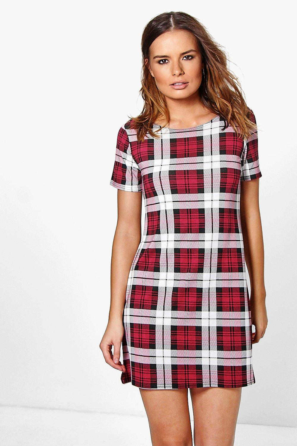 Eve Printed Shift Dress