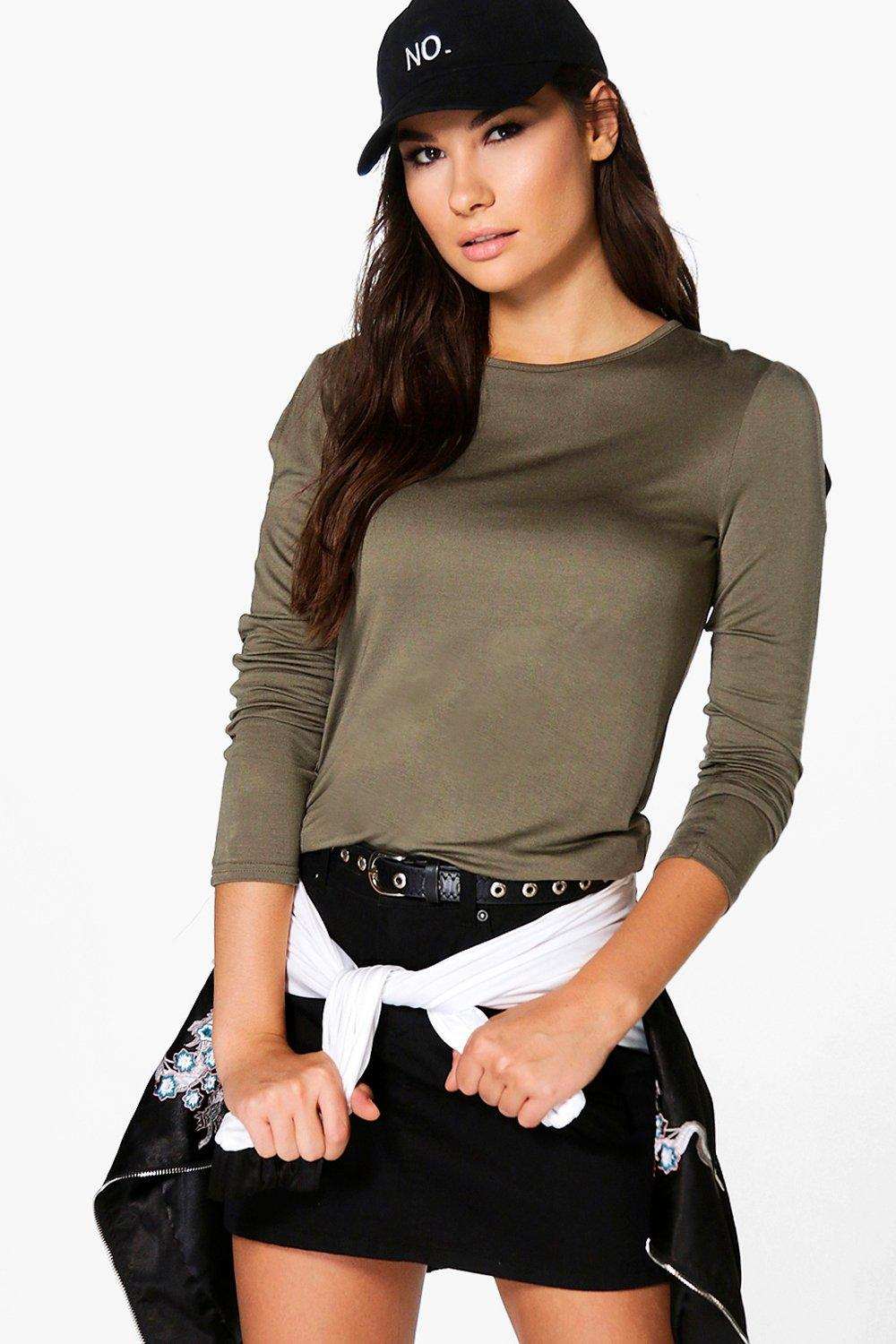 Lola Cold Shoulder Long Sleeve T-Shirt