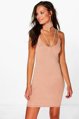 Hannah Strappy Choker Dress