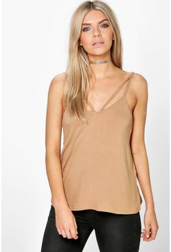 Megan Strappy Detail Cami Top