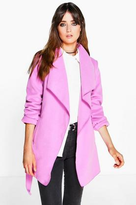 Bethany Wool Look Belted Duster