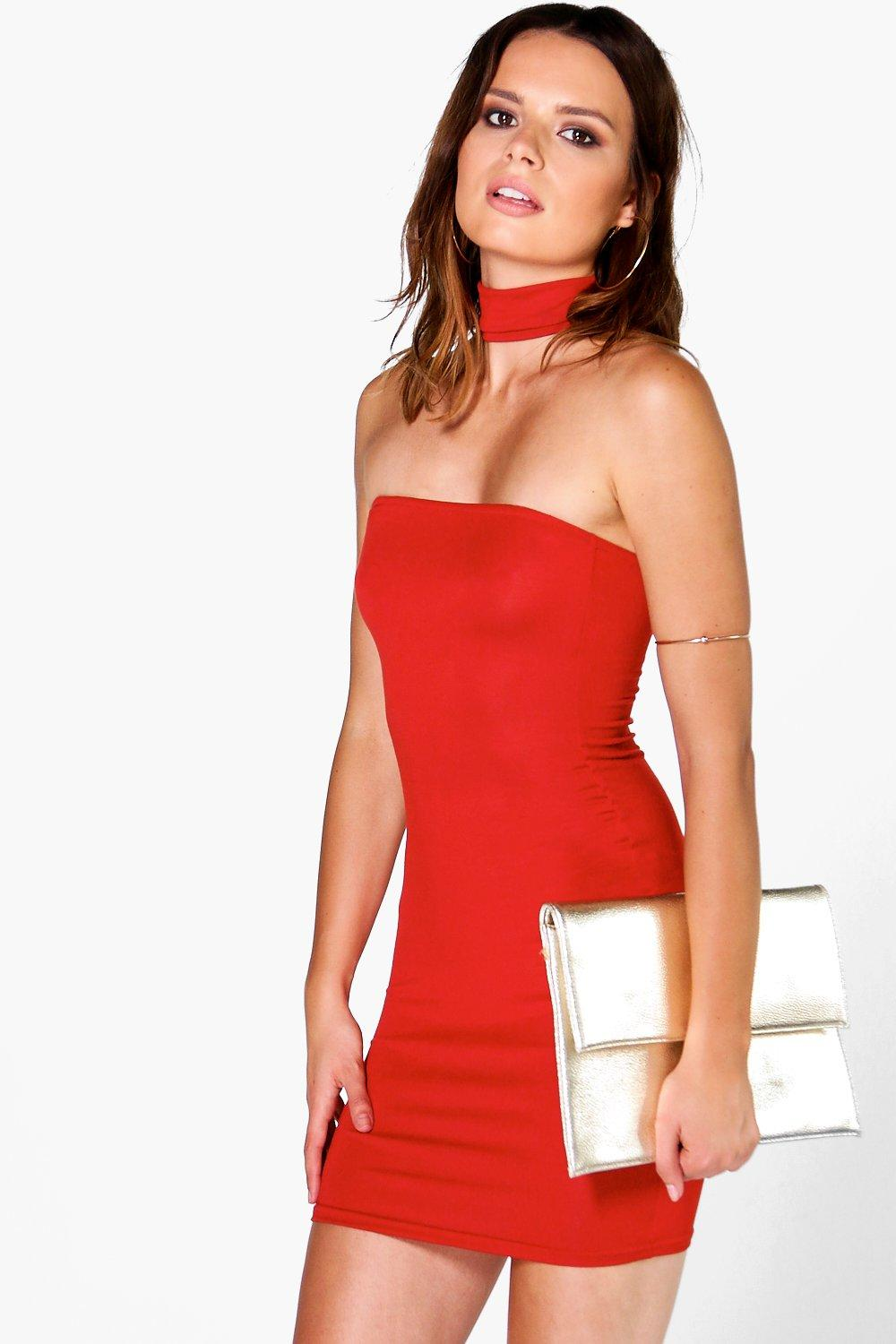 Eleanor Choker Bandeau Dress