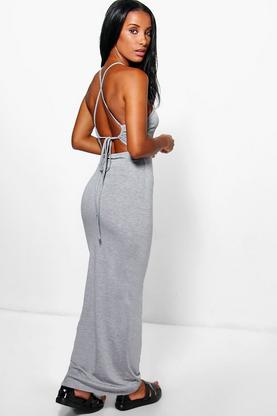 Amy Strappy Back Maxi Dress