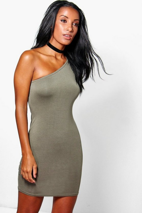 Emma One Shoulder Bodycon Dress