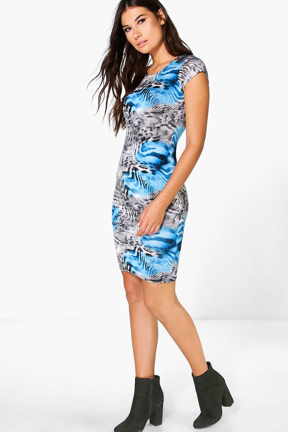 Kerry Cap Sleeve Midi Dress