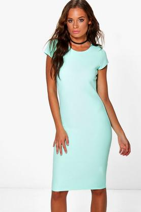 Lizzy Cap Sleeve Midi Dress