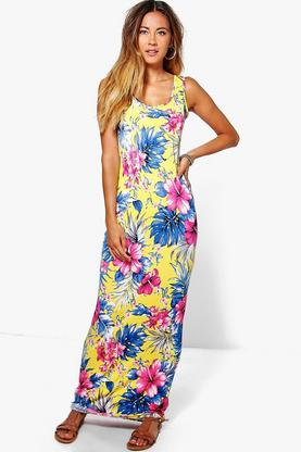 Molly Printed Maxi Dress