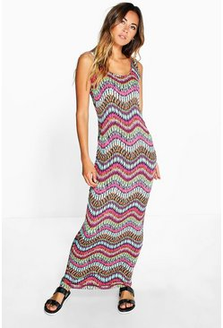 Lexi Printed Maxi Dress