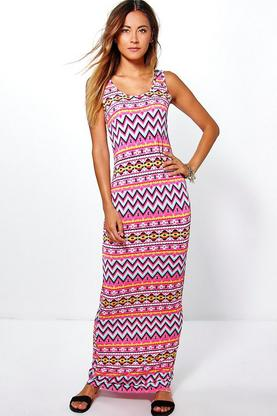 Alice Printed Maxi Dress