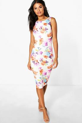 Holly Sleeveless Midi Dress