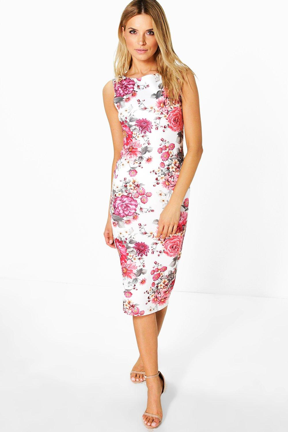 Lucy Sleeveless Midi Dress