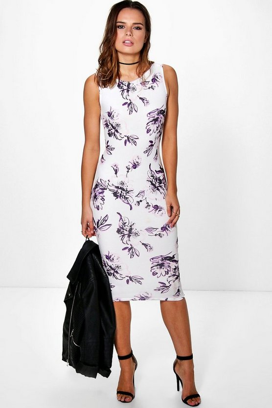 Charlotte Sleeveless Midi Dress
