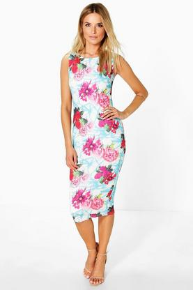 Freya Sleeveless Midi Dress