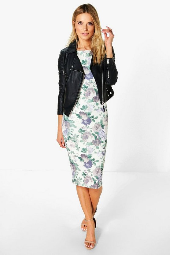Isla Sleeveless Midi Dress