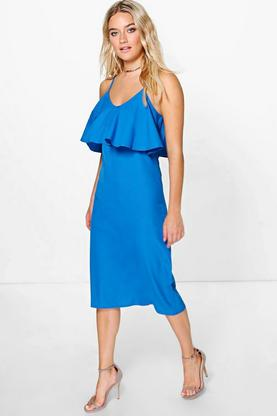 Emily Strappy Frill Dress