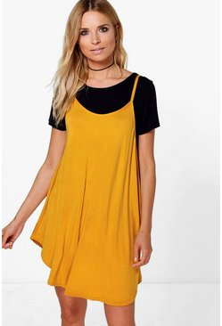 Megan Strappy Swing Dress