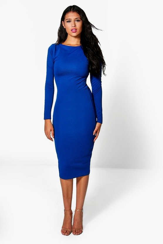 Hannah Rib Bodycon Dress