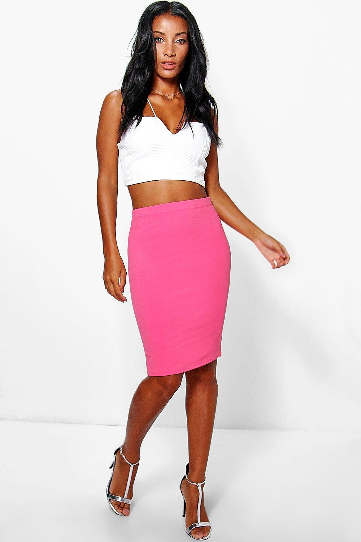 Midi Skirt coral
