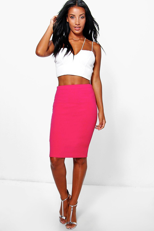 Midi Skirt pink
